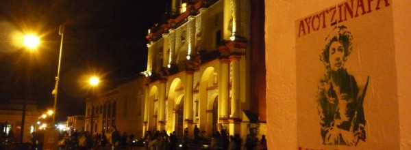 """Ayotzinapa en San Cristóbal de las Casas, Brigada Nacional """"Daniel Solís Gallardo"""""""