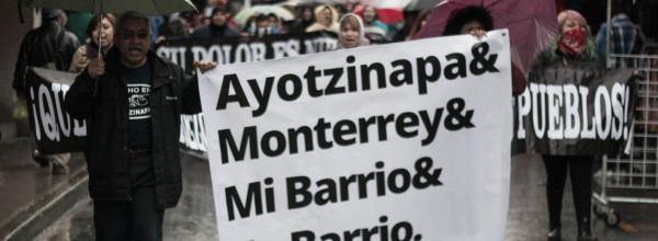 Ayotzinapa está en la casa