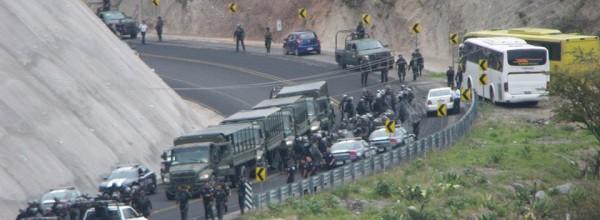 Ayotzinapa: Estado de sitio en Tixtla, Guerrero
