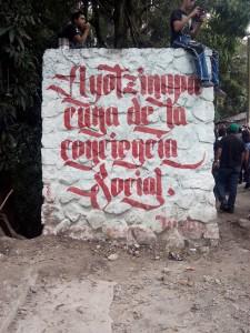 Ayotzinapa cuna de la conciencia social