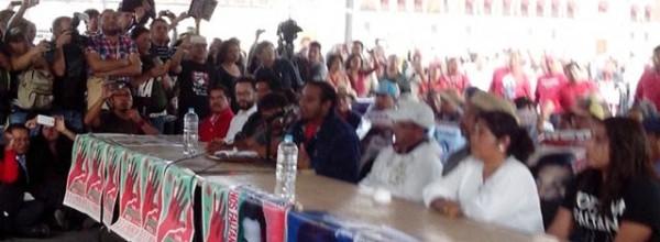 Palabras de madres y padres de Ayotzinapa tras reunión con Peña Nieto. Texto, video y audio