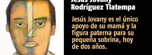 A 23 días #YoTeNombro Jesús Jovany Rodríguez Tlatempa #Ayotz1napa #43Ayotzinapa