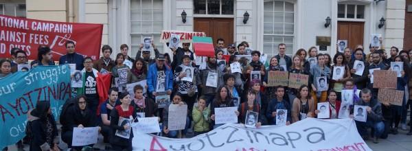 Un año después, Londres sigue en solidaridad con Ayotzinapa