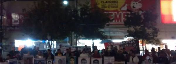26 feb: La Caravana de Ayotzinapa en Monterrey