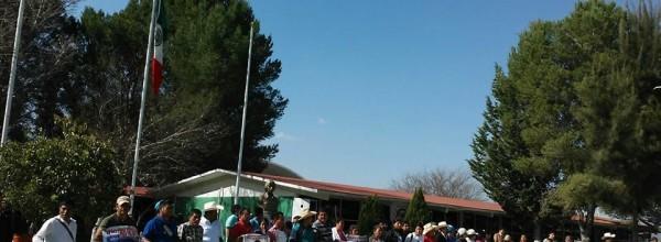 Marcha-Caravana de Ayotzinapa en San Luis Potosí, Matehuala y El Cedral