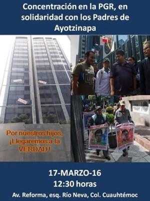 20160317 Solidaridad con Ayotzinapa