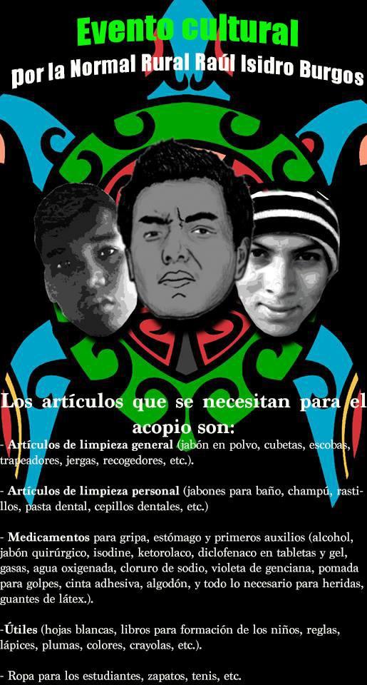 Acopio por Ayotzinapa 2