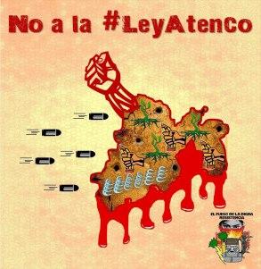 No a la Ley Atenco