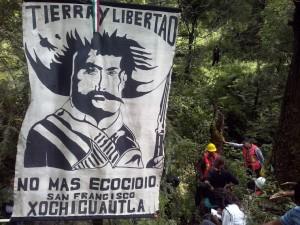 Xochicuautla exige desocupacion de sus tierras