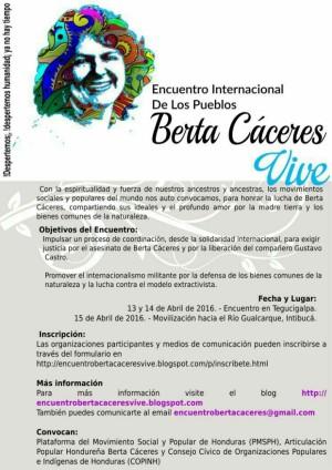 EncuentroBertaCaceresVive