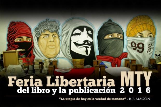 Feria Libertaria del Libro Monterrey 2016