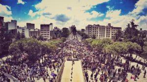 Vivas nos queremos en el Monumento a la Revolución por @droncita