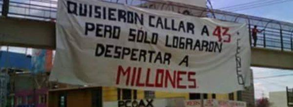7 may: Acuerdos de la Asamblea Nacional Popular de Ayotzinapa
