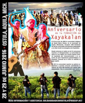 Aniversario Xayakalan