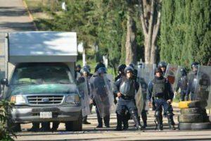 Policia Federal en Nochixtlan - Desde las nubes
