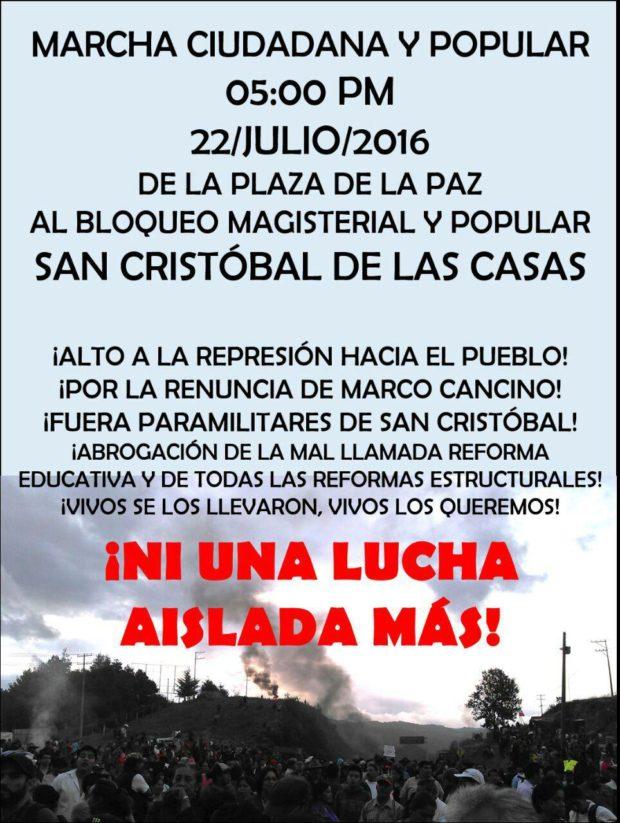 20160722 Marcha en SCLC