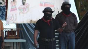 Subcomandante Moises CompArte Roberto Barrios