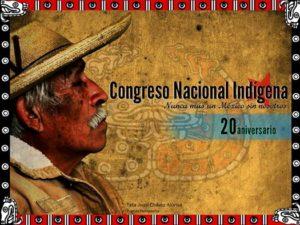 Cartel del 20 aniversario del CNI.