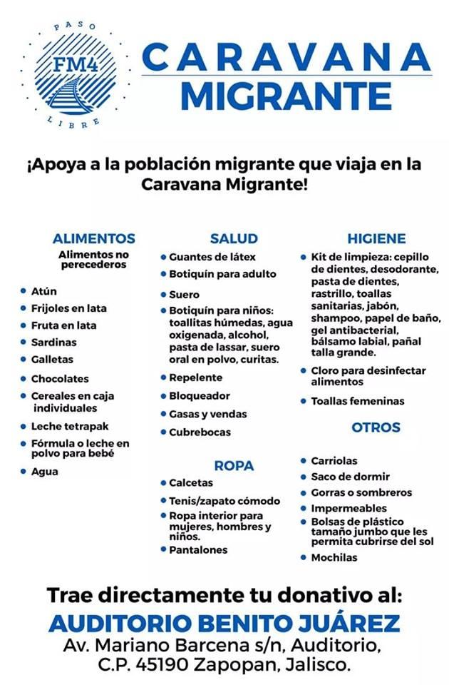 12 nov  Éxodo Migrante a su paso por Guadalajara  CaravanaMigrante a7a4d17b6fb